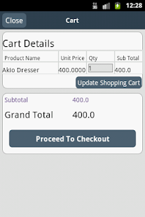 Magento Mobile Store - screenshot thumbnail