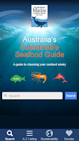 Screenshot of Sustainable Seafood Guide