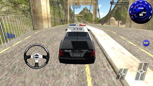 Real Police Car Racing 3D