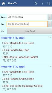 Pune Bus Info - screenshot thumbnail