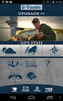 Screenshot of Trimble GPS Fish Free