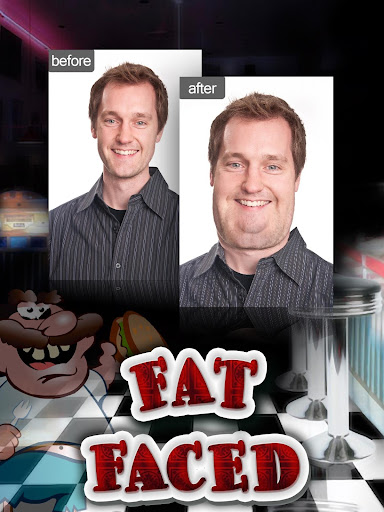 FatFaced The Fat Face Booth