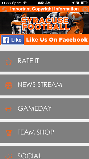 Syracuse Football STREAM