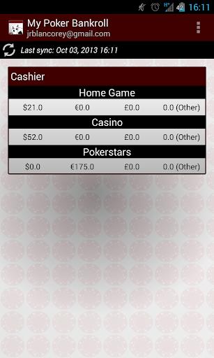 My Poker Bankroll Free