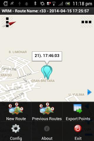 Maps Walking Route