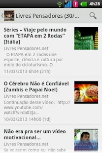 Livres Pensadores- screenshot thumbnail