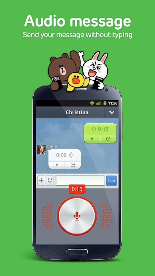 From Photo and Video Sharing to Voice Messages