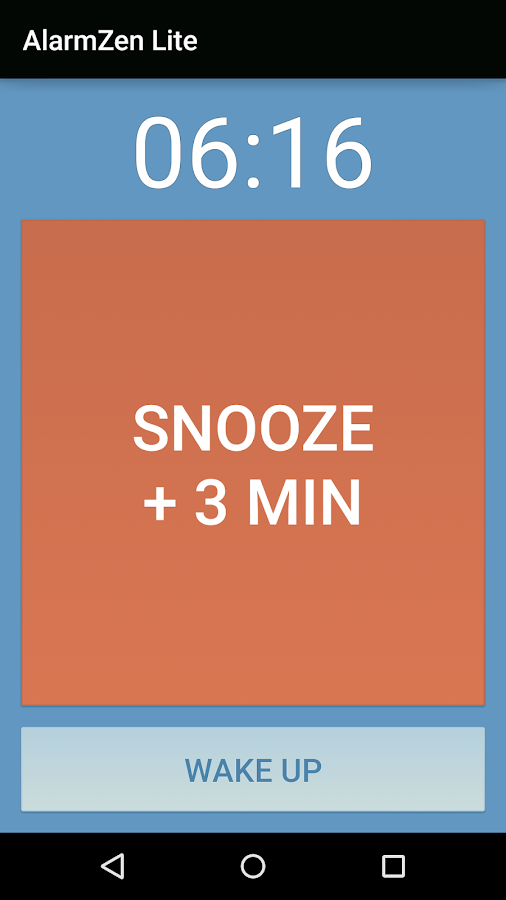 Alarm Zen Lite - Free - screenshot