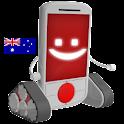 Australia Android logo