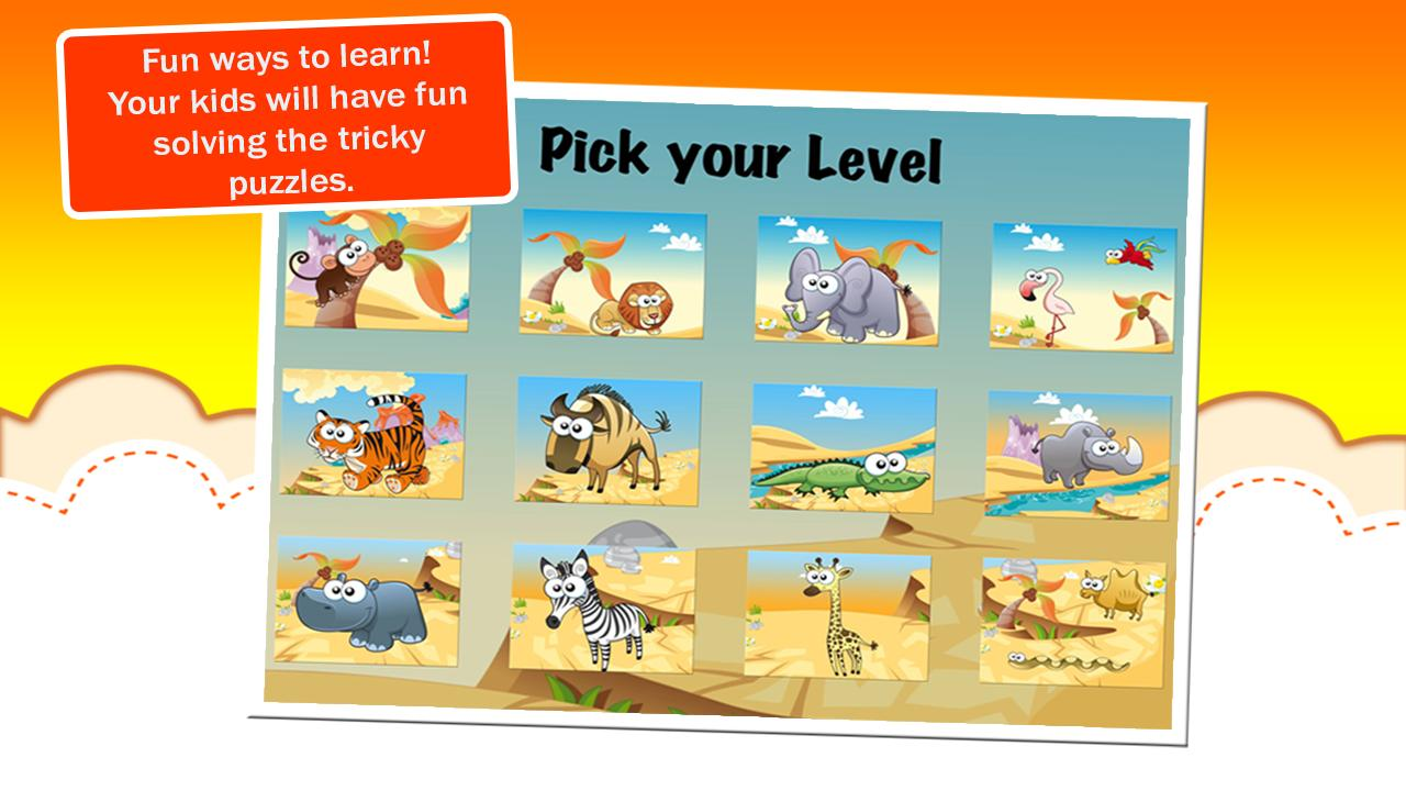 Animal Jigsaw Puzzles - screenshot