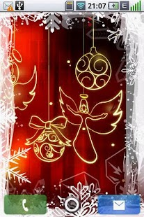 3D Christmas LiveWallpaper - screenshot thumbnail