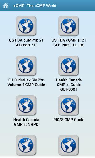 GMP Regulation References