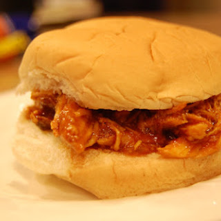 BBQ Chicken Sandwiches in the Slow Cooker.