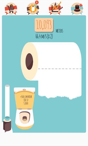 Make It Roll: WC paper rain
