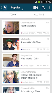 Keek - Social Video - screenshot thumbnail