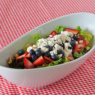 Red, White, and Blue Summer Salad