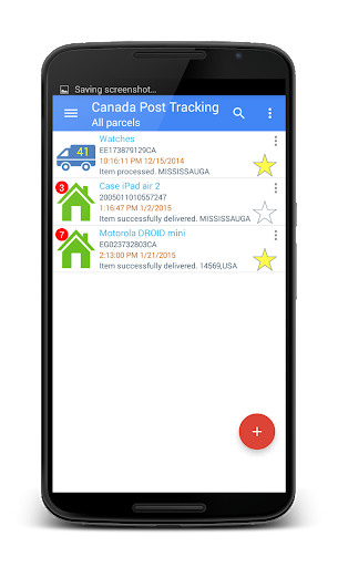 Auto Tracking For Canada Post