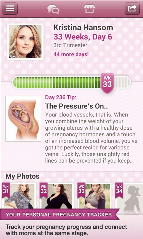 BabyBump Pregnancy Free - screenshot