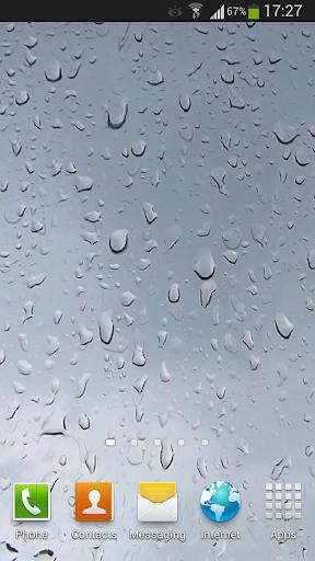 Raindrops Live Wallpaper HD 5
