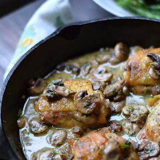 Chicken au Champagne