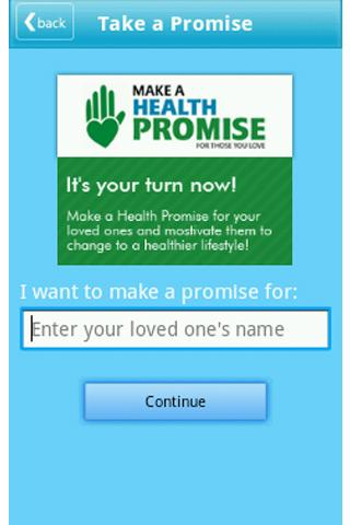 HealthFirst - screenshot