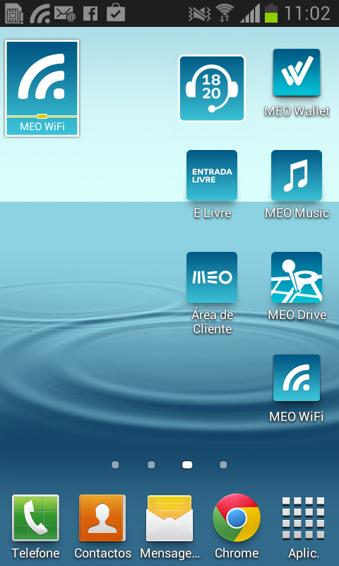 Widget 1820 - Informações- screenshot