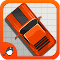 A Doodle Retro Car Race icon