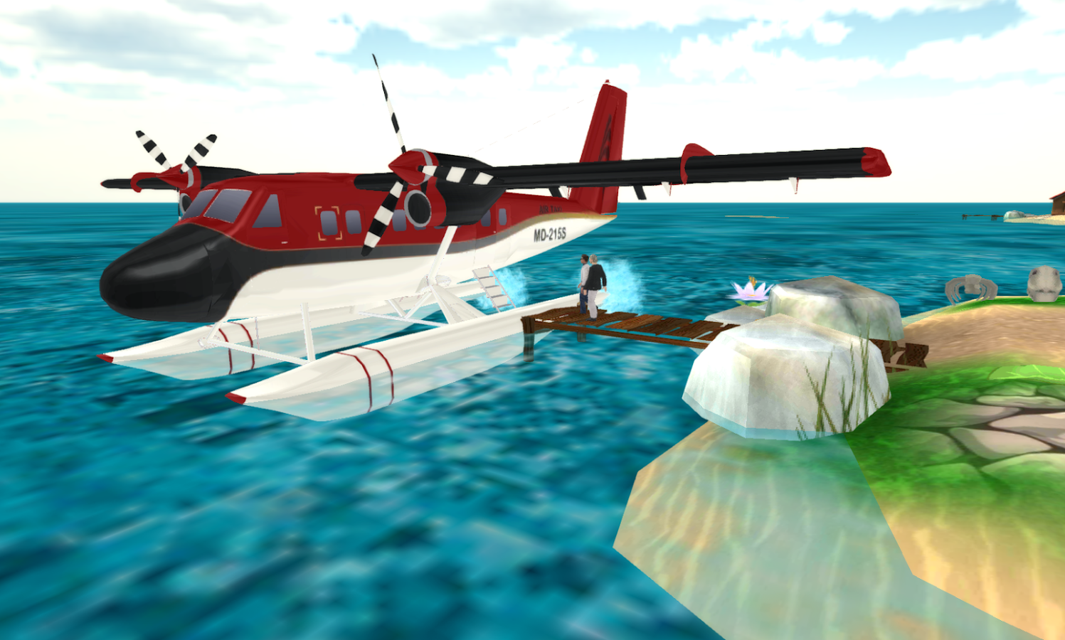 Sea Plane: Flight Simu...