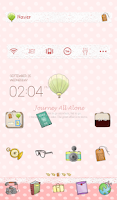 Screenshot of Journey alone dodol theme