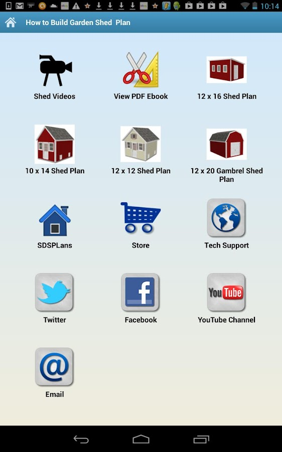 How To Build Garden Shed Plan Android Apps On Google Play
