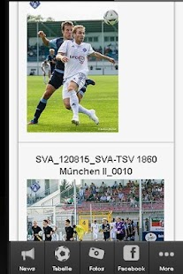 1860 Fan app - screenshot thumbnail