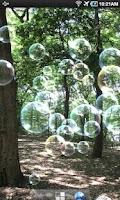 Screenshot of Soap bubble LiveWallpaper
