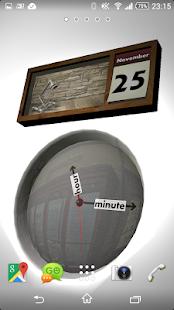 Clock and Calendar 3D 12