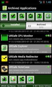 URSafe App Backup/Restore PRO v2.8.130919