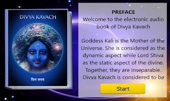 Screenshot of SanskritEABook Divya Kavach