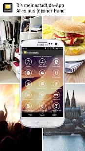 meinestadt.de – alles lokal!- screenshot thumbnail
