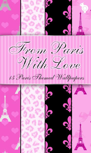 Paris With Love Wallpaper Pack