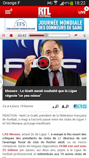 RTL Football- screenshot thumbnail