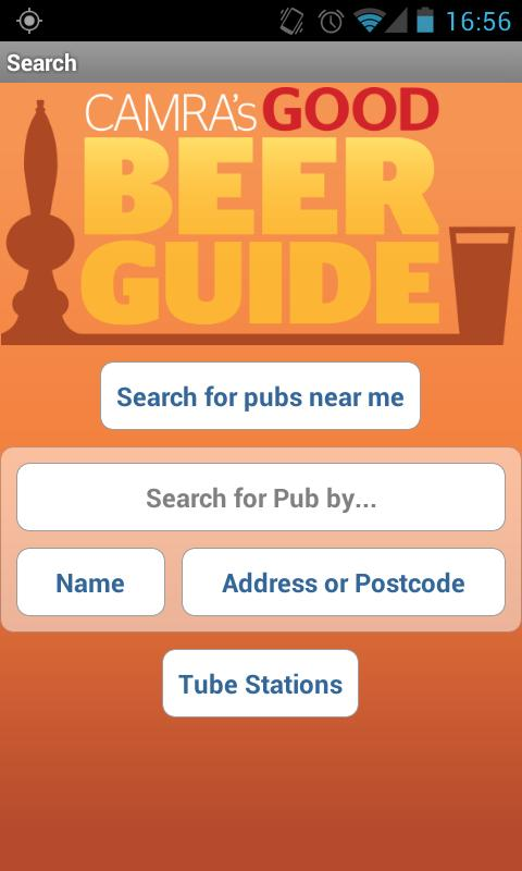 CAMRA Good Beer Guide - screenshot