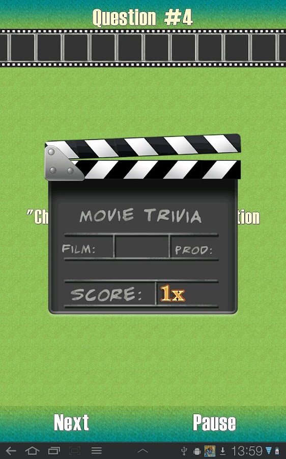 Movie Trivia - screenshot