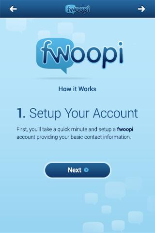 Fwoopi- screenshot