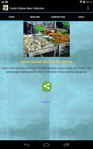 Kedai Makan Best Kelantan