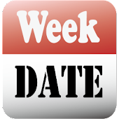 Date/Week in status bar