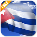 3D Cuba Flag Live Wallpaper icon