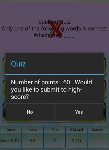 玩免費益智APP 下載Spelling Quiz app不用錢 硬是要APP