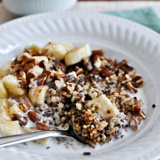 Coconut Milk Breakfast Quinoa.