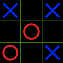 Black Tic Tac Toe logo