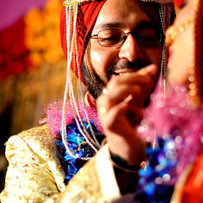 A little something sweet by Abhishek Shirali - Wedding Bride & Groom ( Wedding, Weddings, Marriage )