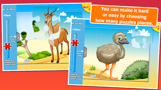 Preschool Puzzles: Animals- screenshot thumbnail