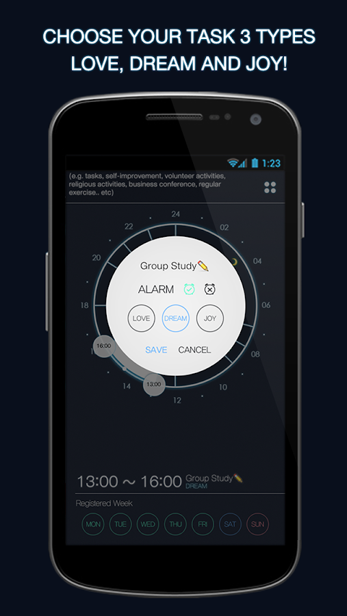 3Cycle - Daily Scheduler- screenshot